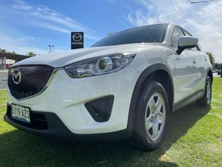 2013 Mazda CX-5 KE1031 MY13 Maxx SKYACTIV-Drive AWD Crystal White Pearl 6 Speed Sports Automatic.