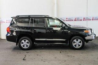 2015 Toyota Landcruiser VDJ200R MY13 Sahara Black Mica 6 Speed Sports Automatic Wagon