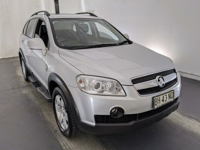 Used Holden Captiva CG MY10 CX AWD Maryville, 2010 Holden Captiva CG MY10 CX AWD Silver 5 Speed Sports Automatic Wagon