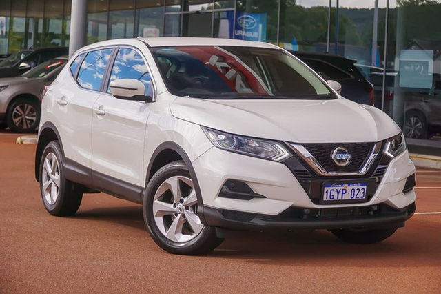 Used Nissan Qashqai J11 Series 3 MY20 ST X-tronic Gosnells, 2019 Nissan Qashqai J11 Series 3 MY20 ST X-tronic White 1 Speed Constant Variable Wagon