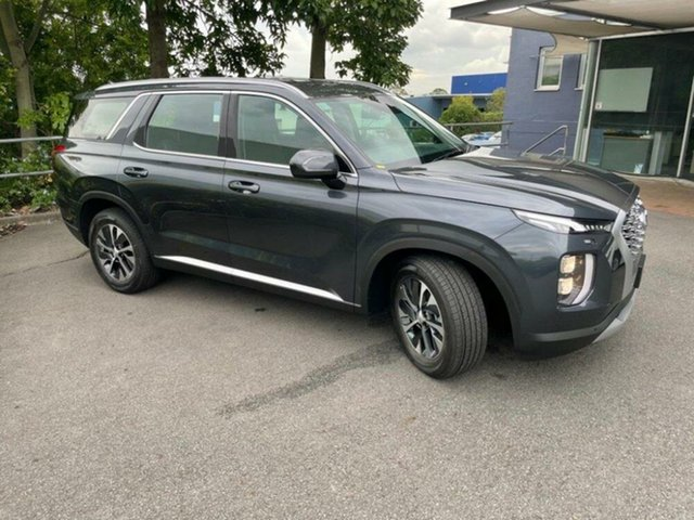 New Hyundai Palisade LX2.V1 MY21 AWD Mount Gravatt, 2020 Hyundai Palisade LX2.V1 MY21 AWD Steel Graphite 8 Speed Sports Automatic Wagon