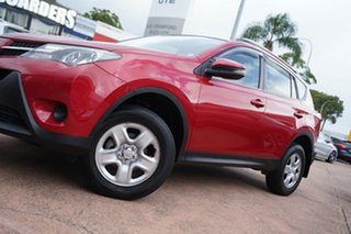 2015 Toyota RAV4 ZSA42R MY14 Upgrade GX (2WD) Red Continuous Variable Wagon.
