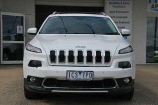 2014 Jeep Cherokee KL MY15 Limited (4x4) White 9 Speed Automatic Wagon.
