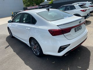 2020 Kia Cerato BD MY21 GT DCT Snow White Pearl 7 Speed Sports Automatic Dual Clutch Sedan