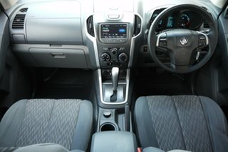2013 Holden Colorado RG MY14 LX Crew Cab Silver 6 Speed Sports Automatic Utility.