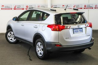 2014 Toyota RAV4 ZSA42R MY14 Upgrade GX (2WD) Silver Pearl Continuous Variable Wagon.