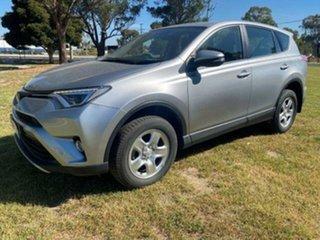 2018 Toyota RAV4 RAV 4 GX AWD 2.5L Petrol Automatic 5 Door Wagon Silver Automatic Wagon.