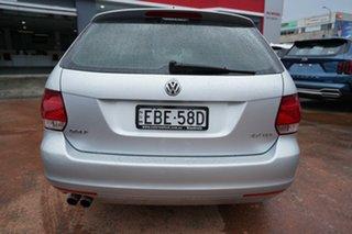 2011 Volkswagen Golf 1K MY12 103 TDI Comfortline Silver 6 Speed Direct Shift Wagon