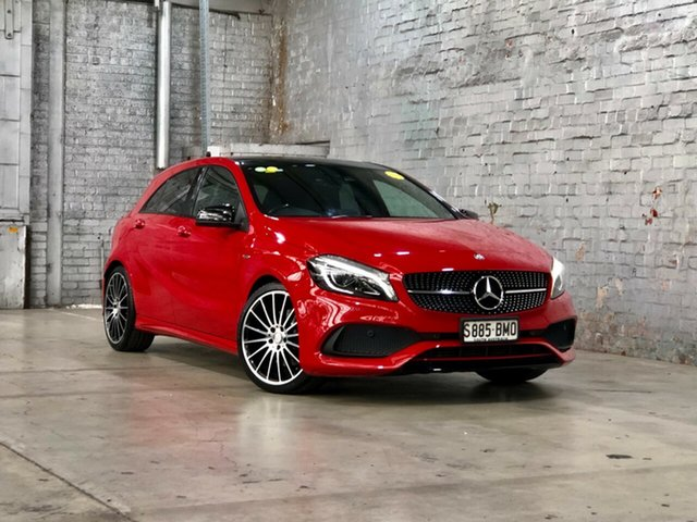 Used Mercedes-Benz A-Class W176 807MY A250 D-CT 4MATIC Sport Mile End South, 2016 Mercedes-Benz A-Class W176 807MY A250 D-CT 4MATIC Sport Red 7 Speed