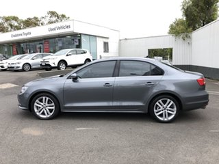 2015 Volkswagen Jetta 1KM MY16 118 TSI Highline Grey 7 Speed Auto Direct Shift Sedan