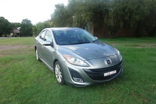 Used Mazda 3 BL10L1 SP25 Activematic East Maitland, 2010 Mazda 3 BL10L1 SP25 Activematic Silver 5 Speed Sports Automatic Sedan