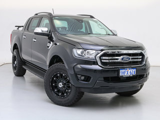 2019 Ford Ranger PX MkIII MY19.75 XLT 3.2 (4x4) Black 6 Speed Automatic Double Cab Pick Up.