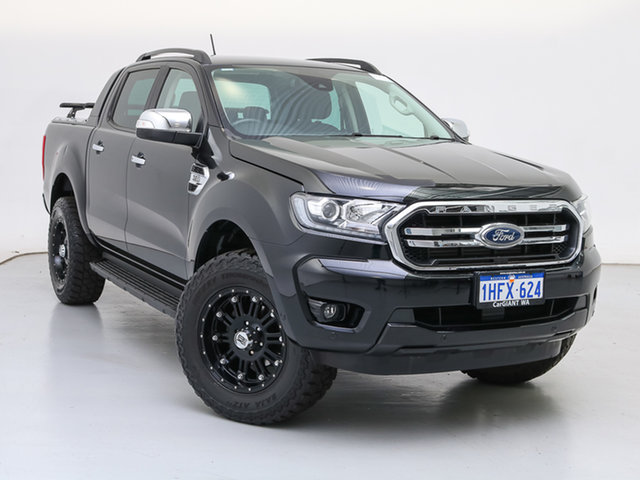 Used Ford Ranger PX MkIII MY19.75 XLT 3.2 (4x4), 2019 Ford Ranger PX MkIII MY19.75 XLT 3.2 (4x4) Black 6 Speed Automatic Double Cab Pick Up