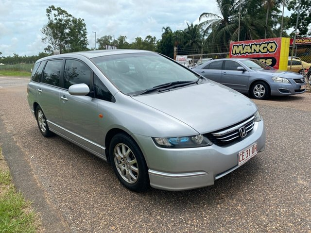Used Honda Odyssey 3rd Gen Luxury Pinelands, 2004 Honda Odyssey 3rd Gen Luxury Silver 5 Speed Sports Automatic Wagon
