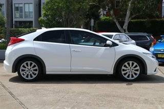 2013 Honda Civic FK MY13 VTi-LN White 5 Speed Automatic Hatchback