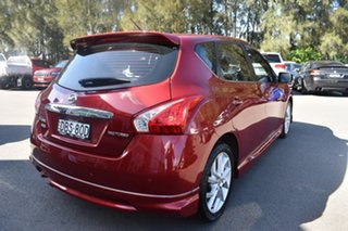2015 Nissan Pulsar C12 Series 2 SSS Red 1 Speed Constant Variable Hatchback