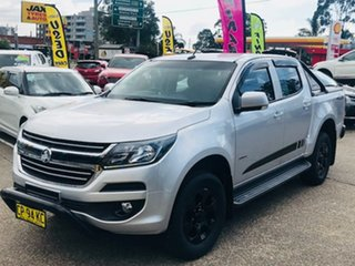 2018 Holden Colorado RG MY18 LT Pickup Crew Cab 4x2 Silver 6 Speed Sports Automatic Utility.