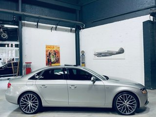 2012 Audi A4 B8 8K MY13 Multitronic Silver 8 Speed Constant Variable Sedan