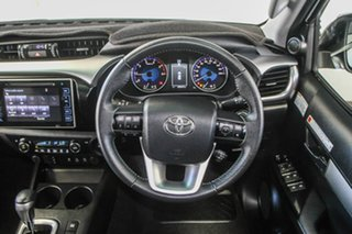 2018 Toyota Hilux GUN126R MY19 SR5+ (4x4) Crystal Pearl 6 Speed Automatic Double Cab Pick Up