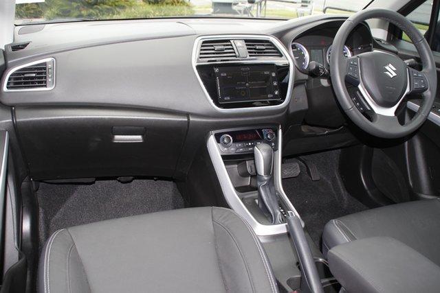 New Suzuki S-Cross JY Turbo Prestige Hamilton, 2020 Suzuki S-Cross JY Turbo Prestige Cosmic Black 6 Speed Sports Automatic Hatchback
