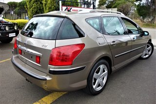 2005 Peugeot 407 ST Touring Comfort Brown 4 Speed Sports Automatic Wagon.