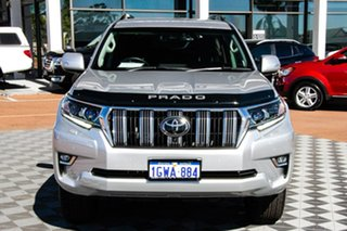 2019 Toyota Landcruiser Prado GDJ150R VX Silver 6 Speed Sports Automatic Wagon