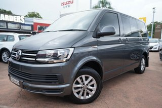 2016 Volkswagen Multivan T6 MY16 Comfortline TDI340 LWB Grey 7 Speed Auto Direct Shift Wagon.