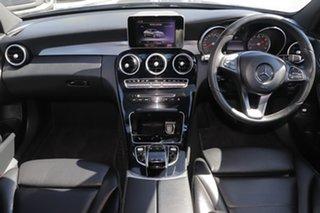 2015 Mercedes-Benz C-Class W205 806MY C200 7G-Tronic + Palladium Silver 7 Speed Sports Automatic