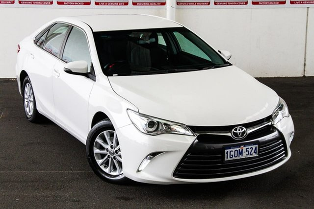 Pre-Owned Toyota Camry ASV50R MY16 Altise Rockingham, 2017 Toyota Camry ASV50R MY16 Altise Diamond White 6 Speed Automatic Sedan