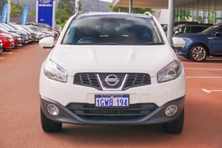 2012 Nissan Dualis J10W Series 3 MY12 Ti-L X-tronic AWD White 6 Speed Constant Variable Hatchback