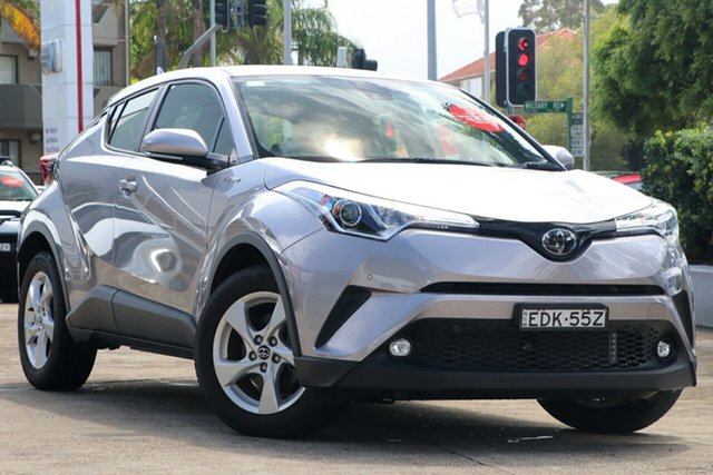 Pre-Owned Toyota C-HR NGX10R S-CVT 2WD Mosman, 2019 Toyota C-HR NGX10R S-CVT 2WD Shadow Platinum 7 Speed Constant Variable Wagon
