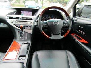 2009 Lexus RX GGL15R RX350 Sports Grey 6 Speed Sports Automatic Wagon