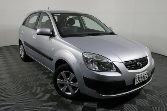Used Kia Rio JB MY09 LX Wayville, 2009 Kia Rio JB MY09 LX Silver 5 Speed Manual Hatchback