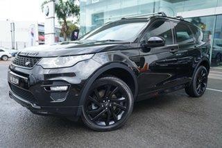 2017 Land Rover Discovery Sport L550 MY18 TD4 (132kW) HSE Luxury 7 Seat Santorini Black 9 Speed.
