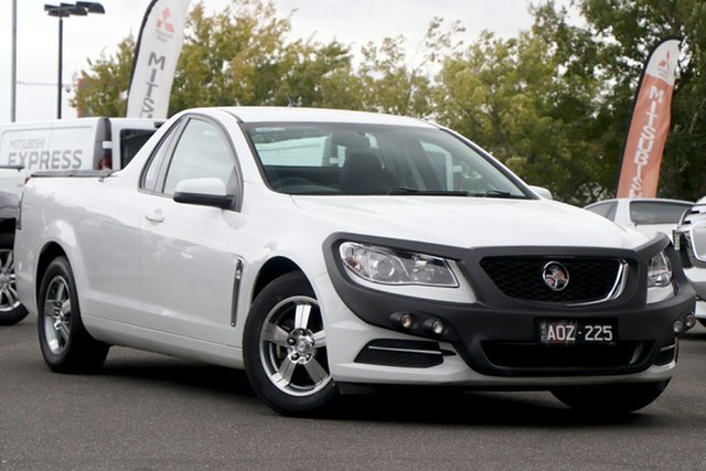Used Holden Ute VF II MY16 Ute Essendon North, 2016 Holden Ute VF II MY16 Ute White 6 Speed Sports Automatic Utility