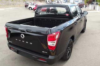 2020 Ssangyong Musso Q200 MY20.5 Ultimate Crew Cab Black 6 Speed Sports Automatic Utility