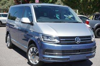 2016 Volkswagen Multivan T6 MY17 TDI450 SWB DSG 4MOTION Highline Reflex Silver 7 Speed.