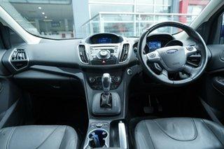 2014 Ford Kuga TF Titanium (AWD) Blue 6 Speed Automatic Wagon