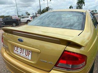 2004 Ford Falcon BA Mk II XR6 Gold 4 Speed Sports Automatic Sedan