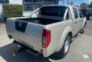 2011 Nissan Navara D40 S6 MY12 RX 4x2 Silver 5 Speed Automatic Utility