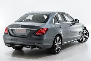 2018 Mercedes-Benz C-Class W205 808MY C200 9G-Tronic Grey 9 Speed Sports Automatic Sedan.