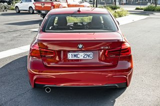 2018 BMW 3 Series F30 LCI 318i Sport Line Red 8 Speed Sports Automatic Sedan