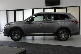 2016 Mitsubishi Outlander ZK MY16 XLS (4x2) Grey Continuous Variable Wagon