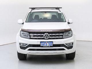 2019 Volkswagen Amarok 2H MY19 V6 TDI 550 Highline White 8 Speed Automatic Dual Cab Utility.
