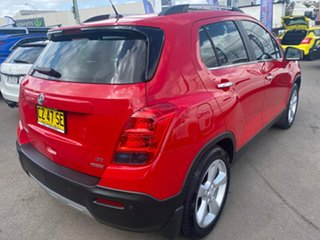 2015 Holden Trax TJ MY15 LTZ Red 6 Speed Automatic Wagon