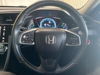 2017 Honda Civic 10th Gen MY16 VTi-LX Silver 1 Speed Constant Variable Sedan