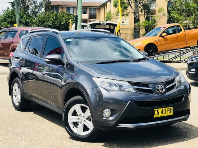 Used Toyota RAV4 ALA49R GXL AWD Liverpool, 2013 Toyota RAV4 ALA49R GXL AWD Grey 6 Speed Sports Automatic Wagon