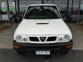 1998 Nissan Terrano JRR-50 White 5 Speed Manual Wagon.