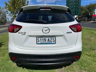2013 Mazda CX-5 KE1031 MY13 Maxx SKYACTIV-Drive AWD Crystal White Pearl 6 Speed Sports Automatic