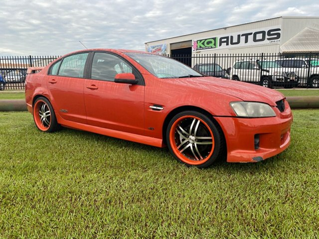 Used Holden Commodore VE SS Berrimah, 2007 Holden Commodore VE SS Orange 6 Speed Sports Automatic Sedan